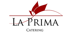 This is the La Prima Catering Logo
