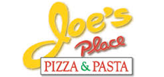 This is the Joes Place Pizza and Pasta Logo